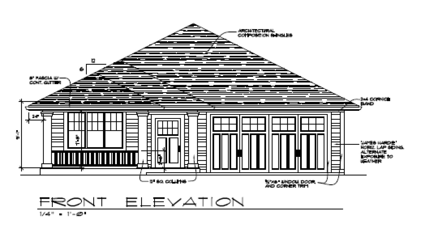 Front Elevation Design Pdf : Creek mont drive pacific trend building and